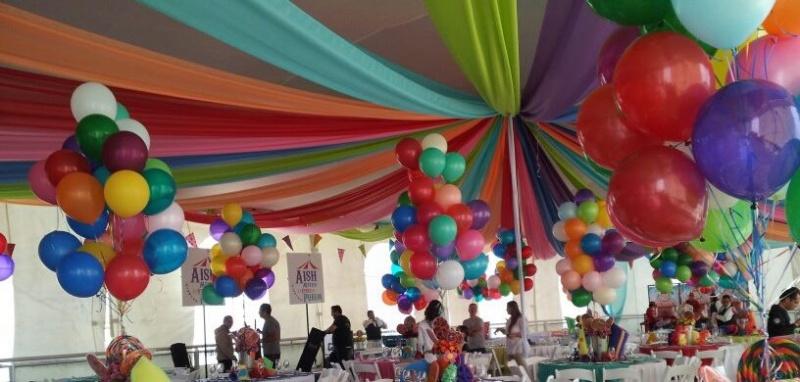 fiesta y globos