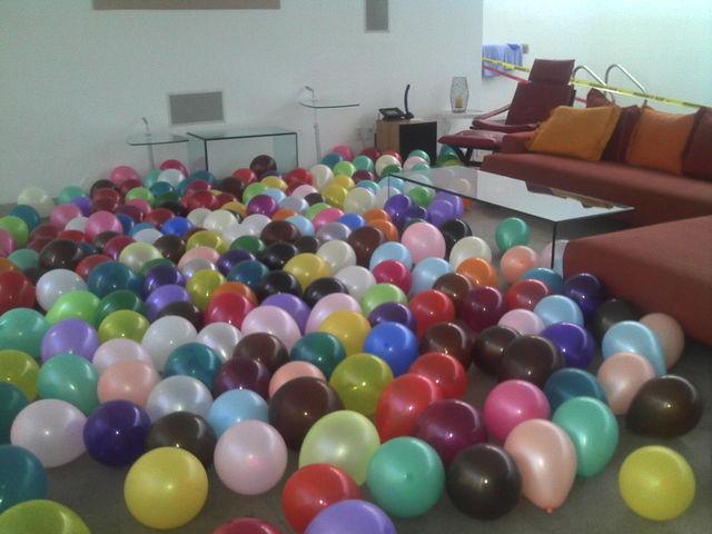 Piso con globos en san angel decoraciones con globos - Decoraciones de pisos ...