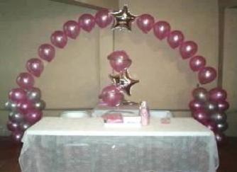 Xv a os globo con gas decoraciones con globos for Decoracion con globos para xv anos